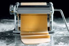 All you need is a pasta machine and two ingredients to make silky sheets of pasta.