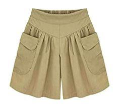 Basic Shorts, Loose Shorts, Plus Size Shorts, Soft Shorts, Shorts With Pockets, Casual Shorts, Pocket Shorts, Hot Pants, Como Fazer Short