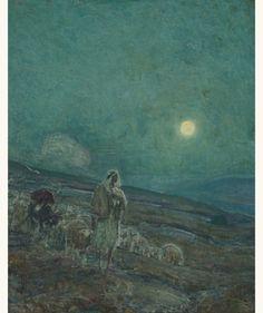 'Shepherd and flock' - Henry Ossawa Tanner (1859–1937)