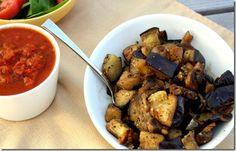 Sauteed Eggplant and Mushrooms