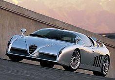 Italdesign Scighera was an Alfa Romeo prototype...