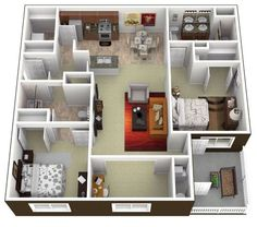 the floor plan for our new apt!!!!!