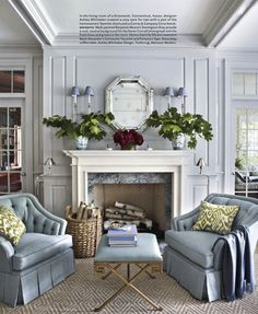 Wall color: Stonington Gray by Benjamin Moore
