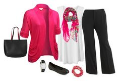 """""""Plus Size Outfit, Work Outfit"""" by jmc6115 on Polyvore featuring Sag Harbor, Old Navy and Geneva"""