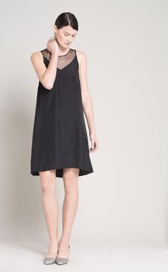 SALE 30% Off  Tulle Sheer Dress  Little Black by Lennyfashion
