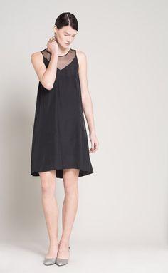 SALE 30% Off  Tulle Sheer Dress  Little Black by Lennyfashion
