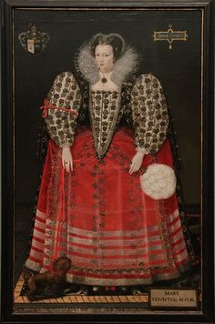 Portrait of Mary Kytson, Lady Darcy of Chiche, later, Lady Rivers, c. 1590, by British School