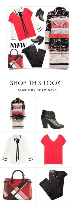 """""""Can't miss in Missoni"""" by collagette on Polyvore featuring Missoni, rag & bone, Marc Jacobs, Gérard Darel, Burberry, BRAX, NYFW, marcjacobs and missoni"""