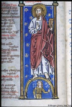 Psalter-Hours, MS M.94 fol. 4v - Images from Medieval and Renaissance Manuscripts - The Morgan Library & Museum