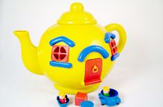 The Big Yellow Teapot, my kids play with mine these days :) ... although it is missing the red window covers!