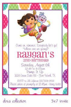 Dora invite