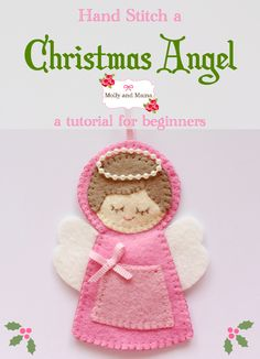 I have had so much fun designing and stitching up decorations for Christmas this year. It gives me so much pleasure! So when Deanna from Sew McCool announced she was hosting a '12 Days of Christmas...