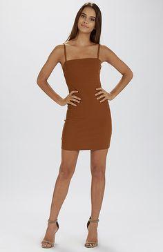 Madia Dress - Brown