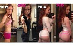 De corpo reto a bumbum na nuca: blogueira impressiona e conta segredo das curvas