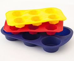 Before: Muffin + Ice-Cube Trays- Old Use: These silicone muffin pans and ice-cube trays are sure to be found in your kitchen cabinets.