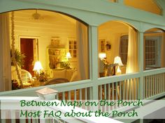 screened front porch    Springtime Means Porch Time: Answers to Your Most FAQs