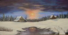 Winter Home & Barn