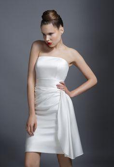 b487d416ab1 Tobi Hannah Ceqi Short Wedding Dress Best Wedding Dresses