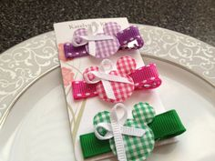 Mickey Minnie Toddler Hair Clips  Baby Hair by katelynnskloset, $6.50