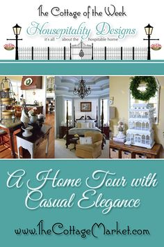 Home Tour The Cottage of the Week Starring Housepitality Designs - The Cottage Market