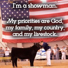 Livestock Motivation by Ranch House Designs.