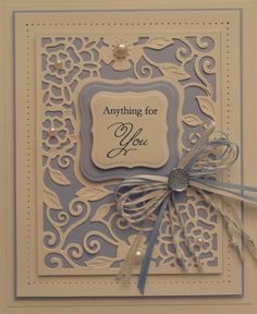 spellbinders decorative curved square - Google Search