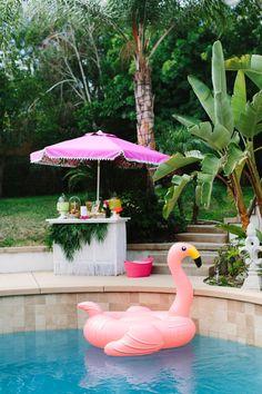 Aloha themed bridal shower
