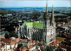 Chartres, France.  Love that Cathedral,  have been there many time as a child