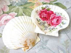 decoupage shell
