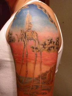 another awesome Dali tattoo.
