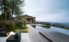 <> Villa CP - a restored farmhouse in Girona, Spain by ZEST Architecture Architecture Durable, Architecture Renovation, Cabinet D Architecture, Architecture Journal, Landscape Architecture, Architecture Design, Natural Architecture, Outdoor Spaces, Outdoor Living