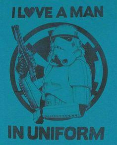 Star Wars Love Uniform Baby Tee