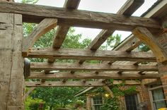 reclaimed wood pergola - Yahoo Image Search Results