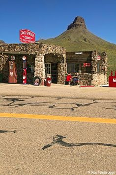Cool Springs gas station,Route 66,Kingman, Arizona (I worked on a movie that we used this as a location.  We were there for about a week.)