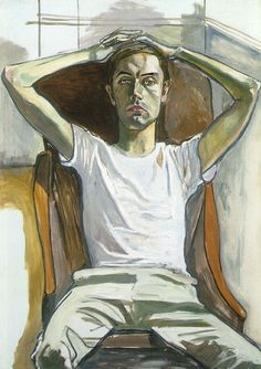 Alice Neel - Hartley - 1965 - oil on canvas