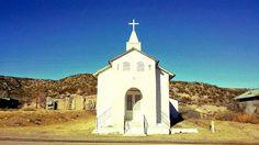 Church, Cuchillo, New Mexico, USA