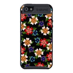 Floral pattern iPhone 5 cover