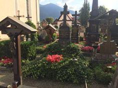 Beautiful Catholic Cemetery Oberammergau