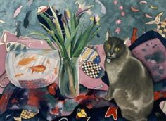 Henri Matisse...Still Life with #cat