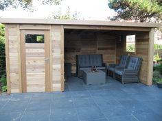 overzichten | Prins Tuinhuisjes Garage Doors, Pergola, Outdoor Decor, Modern, Sauna Ideas, Sheds, Lounge, Home Decor, Mini