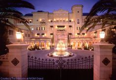 Mansion at MGM Grand in Las Vegas, United States at Hotels of the Rich and Famous