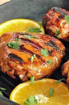 Low FODMAP Recipe and Gluten Free Recipe - Orange and maple glazed chicken http://www.ibs-health.com/low_fodmap_orange_maple_glazed_chicken.html