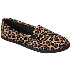 Women's Mossimo® Calidora Flat - Leopard Print $17.99  http://mydirty30.wix.com/blog
