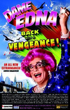 November 21, 2004 - DAME EDNA: BACK WITH A VENGEANCE