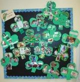 Family project: I am lucky because... Send shamrock home to add poems, quotes, sayings, photos, decor...(upper grades writing assignment...)