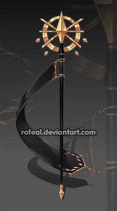WeaponCustom by Rofeal on DeviantArt Ninja Weapons, Anime Weapons, Fantasy Weapons, Staff Magic, Armas Ninja, Elemental Magic, Sword Design, Magical Jewelry, Weapon Concept Art