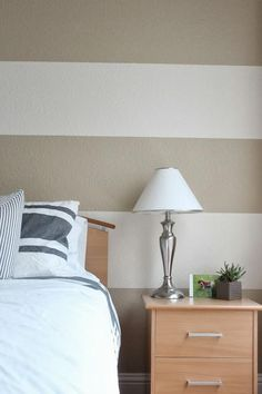 DIY Home : DIY Painting Striped Walls