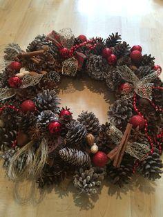 Xmas wreath made by myself :)
