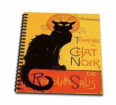 3dRose db_46907_2 Le Chat Noir Advertising, Art Nouveau, Black Cat, Cat, Cats, Chat Noir, Le Chat Memory Book, 12 by 12-Inch 3dRose http://www.amazon.com/dp/B00BK9CN6E/ref=cm_sw_r_pi_dp_KkFaxb1RRR6KR