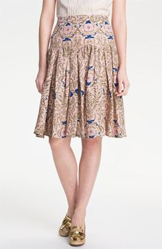 Tory Burch Kyra Flare Skirt available at #Nordstrom